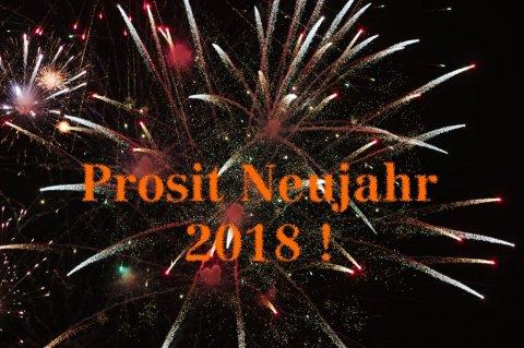 Prosit Neujahr 2018 !