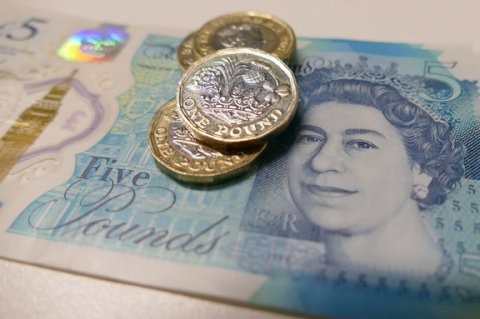 Investors believed in pound again