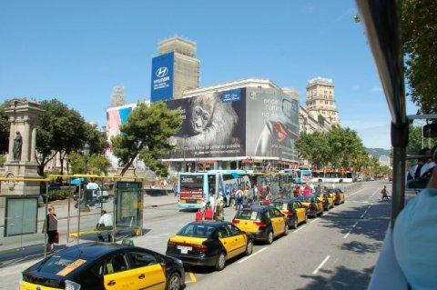 Такси Мадрида выступают против Uber
